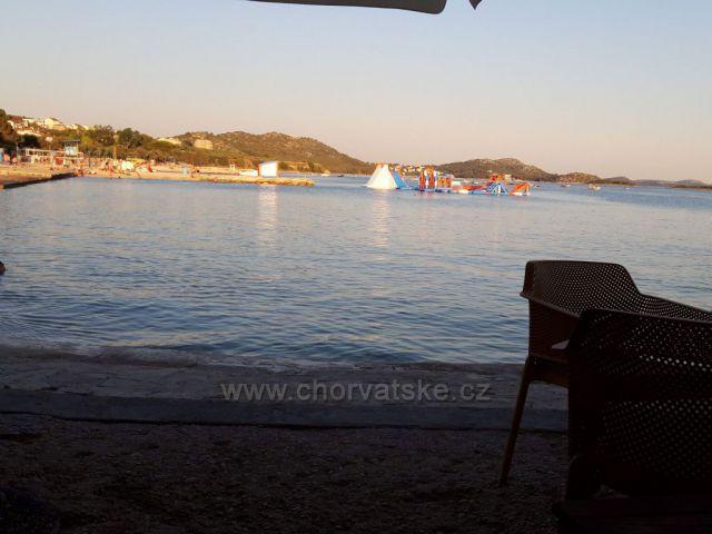 Večerní pohled na moře