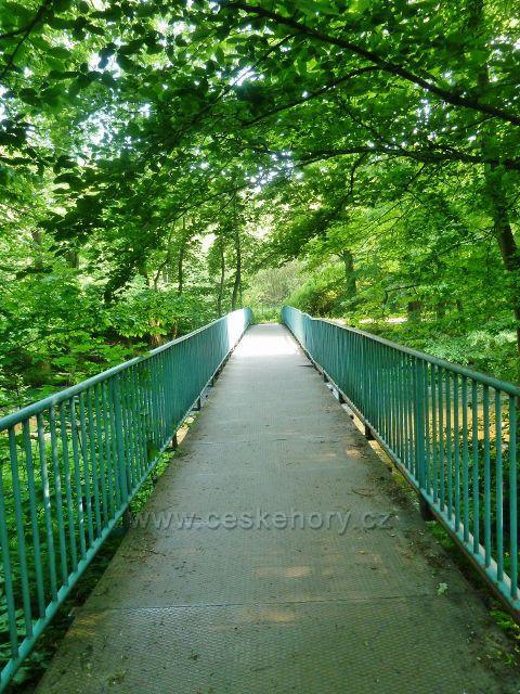 Potštejn - mostek přes Divokou Orlici u Vochtánky