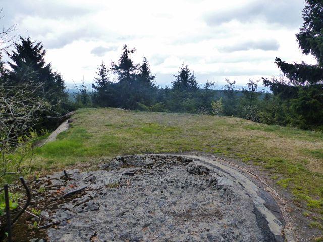 Pěchotní srub Arnošt byl rovněž vyhlídkovým místem