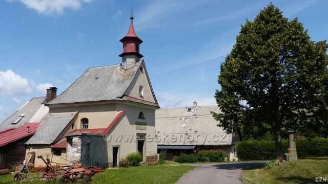 Vlčkovice. kaple narození Panny Marie