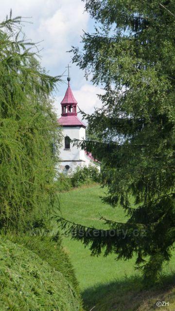 Čihák, kaple sv. Anny