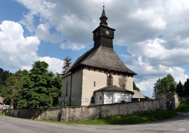 Klášterec n. Orl., kostel Nejsvětější Trojice