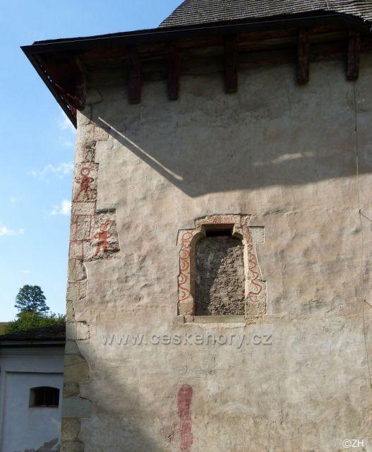 Kostel Nejsvětější Trojice v Klášterci n. O. a jeho čerti