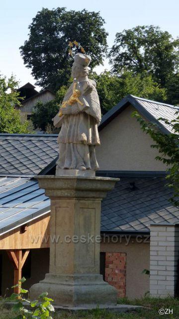 Nekoř, sv. Jan Nepomucký