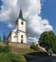 Nekoř, kostel sv. Mikuláše