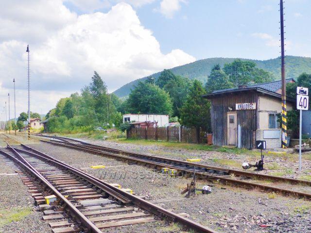 Železniční stanice v Královci