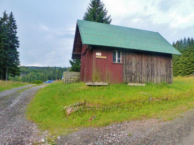 Žacléřské boudy - bod záchrany TK 864