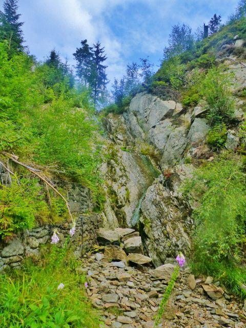 Žacléřské boudy - Doubravův vodopád