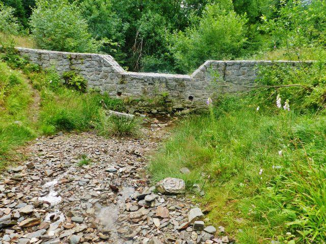 Žacléřské boudy - poldr pod Doubravovým vodopádem