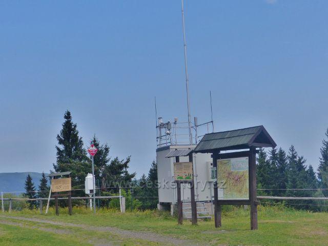Rýchory - meteorologická stanice u Rýchorské boudy
