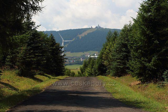 Výhled na Fichtelberg