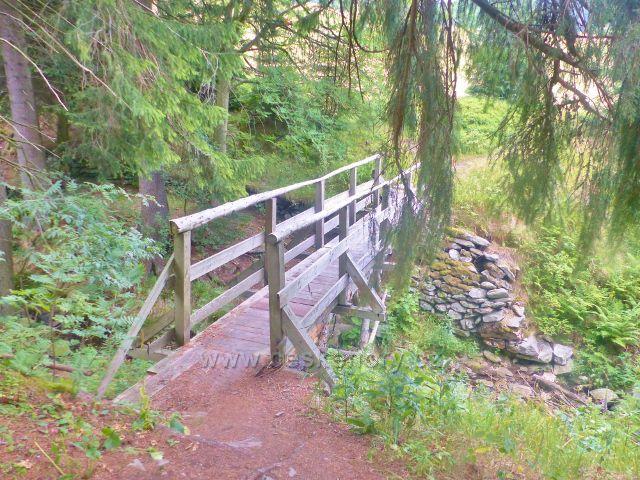 Malá Úpa - mostek přes Soví potok