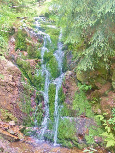 Malá Úpa - Soví vodopád