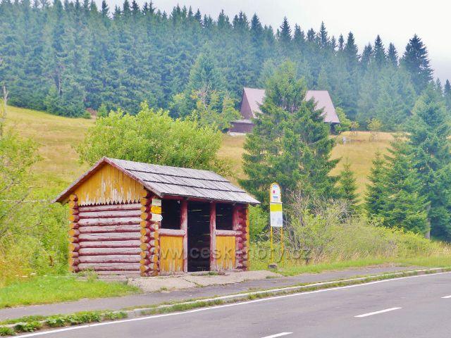 Horní Malá Úpa - autobusová zastávka Malá Úpa, Za větrem