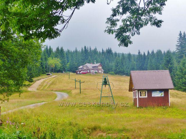 Horní Malá Úpa - areál chaty Třezalka