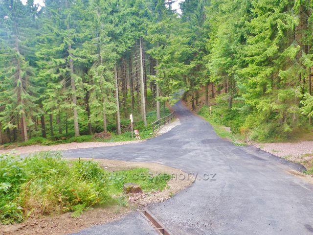 Horní Malá Úpa - rozcestí Pod Jelenkou