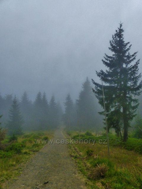 Horní Malá Úpa - Cestu česko-polského přátelství zahalila opět mlha