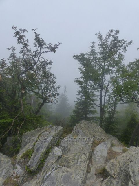 Horní Malá Úpa - část skalnatého vrcholu Tabule
