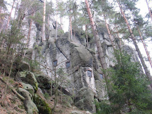 Adršpach -Křížový vrch