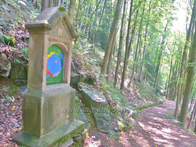 Horní Maršov - IV.zastavení Křížové cesty v Temném Dole