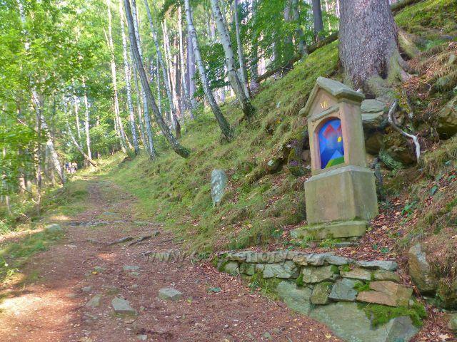 Horní Maršov - VII. zastavení Křížové cesty v Temném Dole