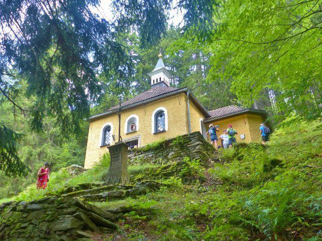 Horní Maršov - kaple sv. Anny v Temném Dole