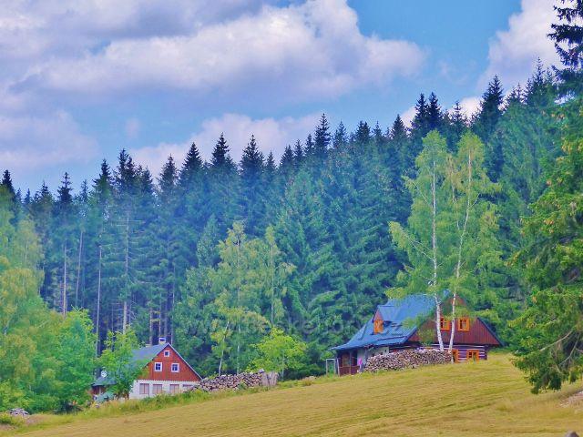 Horní Maršov - chalupy v lokalitě Stará Hora