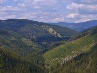 Horní Maršov - pohled z Emminy cesty k Pěnkavčímu vrchu