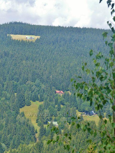 Horní Maršov - chalupy pod Pěnkavčím vrchem
