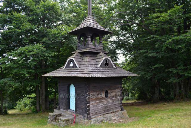 Zvonička na Pustevnách.