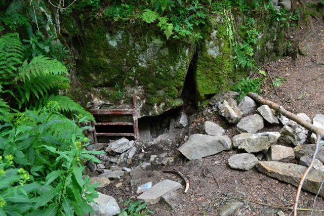 Jeskyně Cyrilka. Zkuste ji najít.