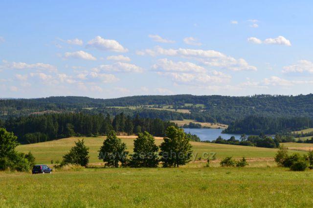 Výhledy na Slezskou Hartu,cestou k vápené peci