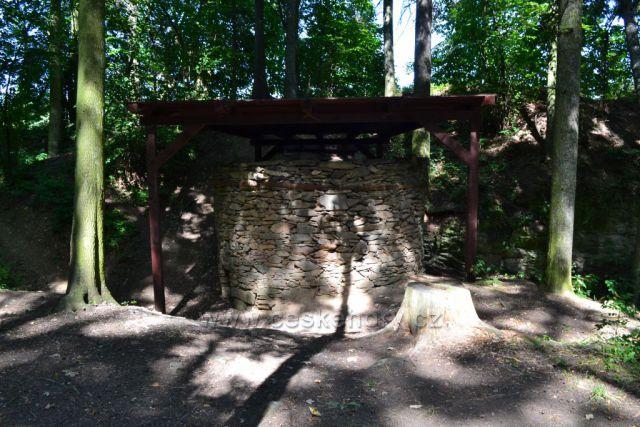 Vápená pec, technická památka v Leskovci