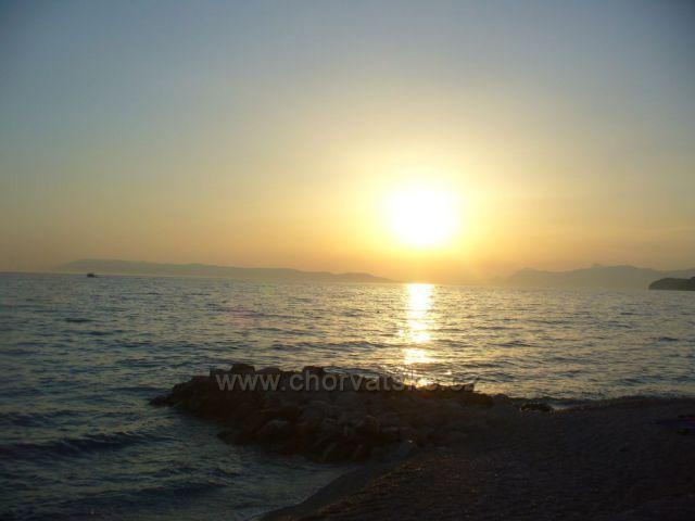 Západ slunce v Tučepi