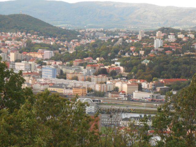 Ústí nad Labem ze Střekovské vyhlídky