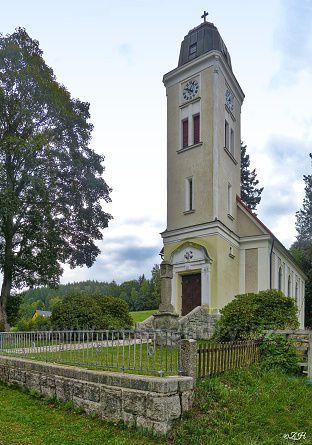 Loučná, kostel sv.Josefa