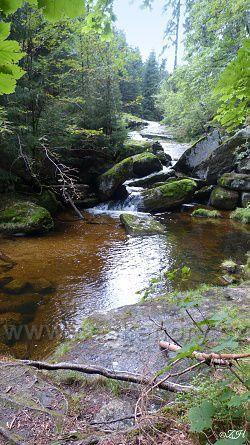 Vodopády na Kamenici