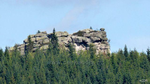 Pytlácké kameny od rašelinišť