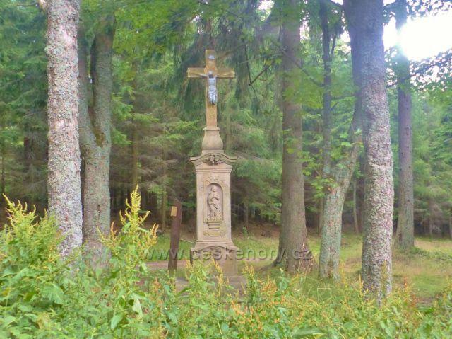 Žacléř - Boží muka na rozcestí Bílý kříž