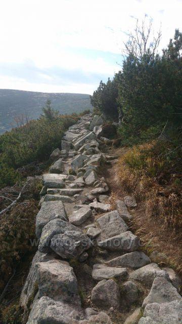 Szrenica - turistický chodník