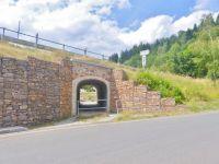 Žacléř - podchod silnice na křižovatce v Prkenném Dolu