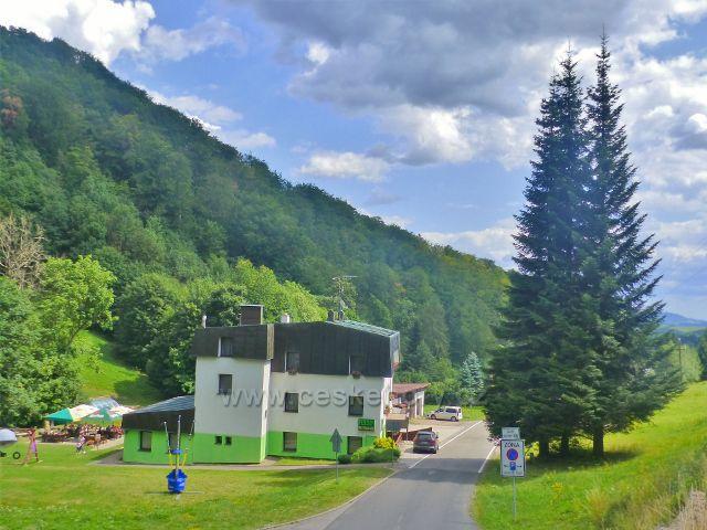 Žacléř - restaurace a penzion Zelený Mlýn v Prkenném Dolu
