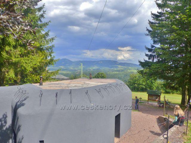 Žacléř - dělostřelecká tvrz Stachelberg