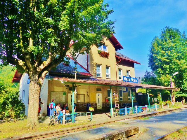 Malá Skála - vlakové nádraží