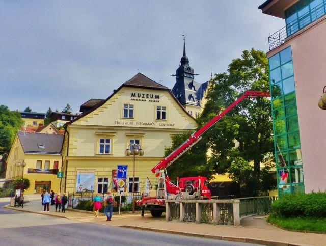 Semily - Muzeum a\ Pojizerská galerie , sídlo turistického informačního centra