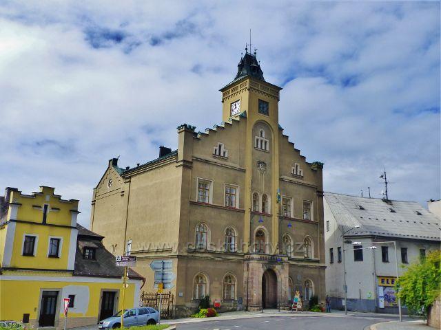 Semily - radnice z roku 1874.Sídlo Městského úřadu