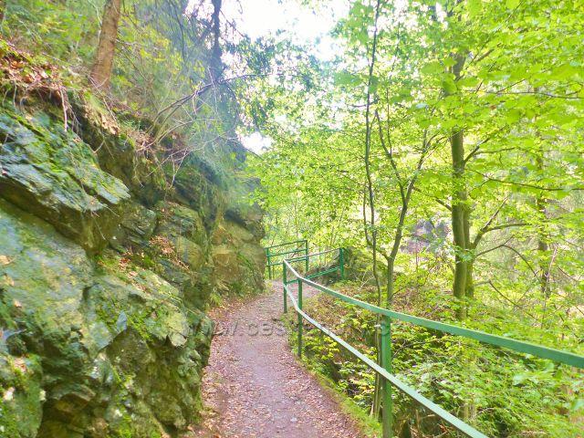 Semily - Riegrova stezka. PR Údolí Jizery