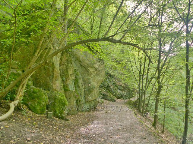 Semily -Riegrova stezka. PR Údolí Jizery