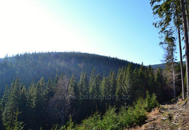 Výhledy na Temnou horu 1263 mnm.