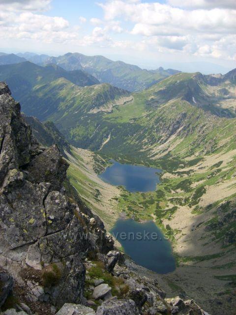 Vysoké Tatry výhľad z Kôprovského štítu